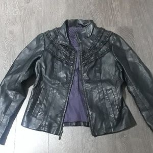 Steve Madden faux leather jacket size M